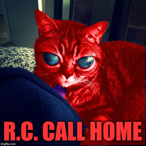 RayCat Aliens | R.C. CALL HOME | image tagged in raycat aliens | made w/ Imgflip meme maker