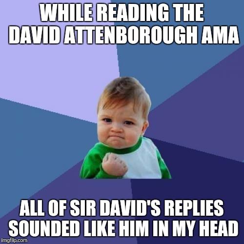 David Attenborough's AMA - Imgflip