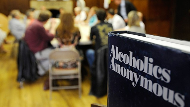 alcoholics anonymous Meme Template