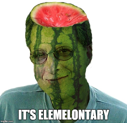 IT'S ELEMELONTARY | made w/ Imgflip meme maker