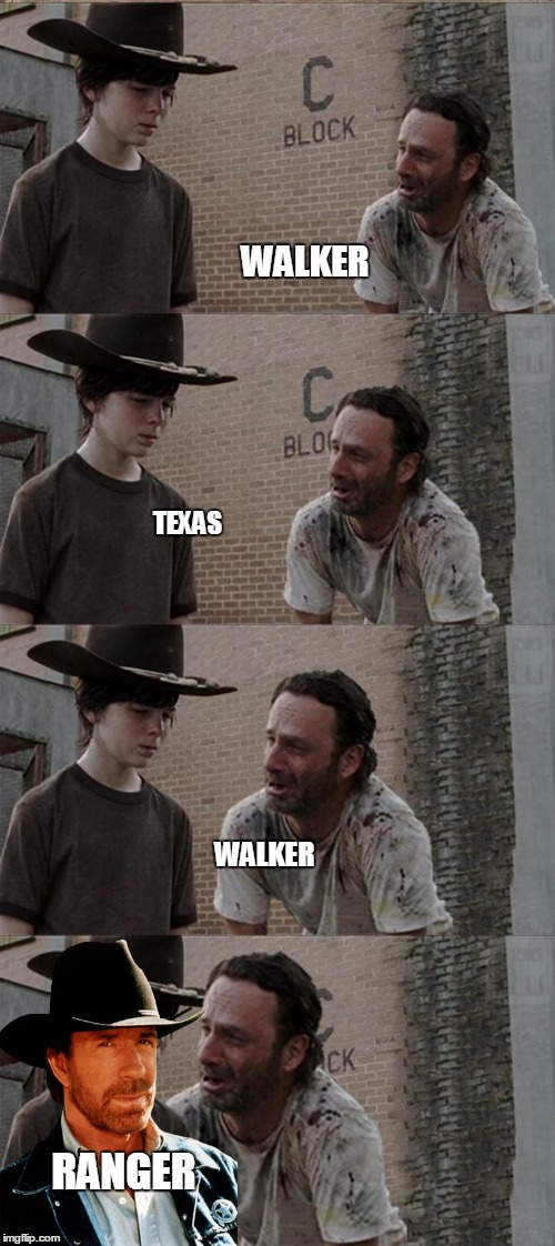 WALKER TEXAS WALKER RANGER | made w/ Imgflip meme maker