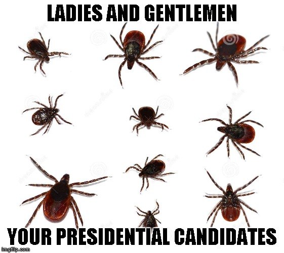 LADIES AND GENTLEMEN YOUR PRESIDENTIAL CANDIDATES | made w/ Imgflip meme maker