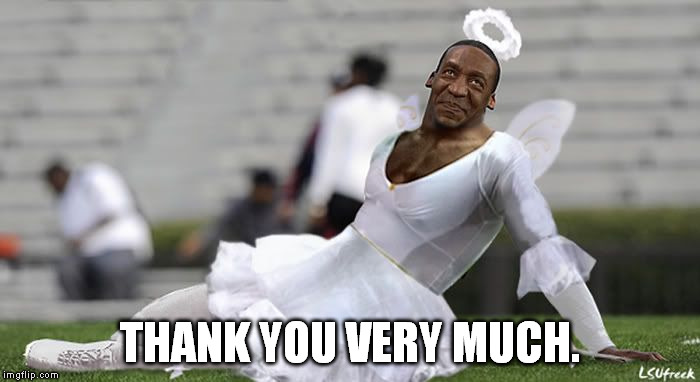 How 'bout I give you some bibbity bobbity boo that'll send you straight off to Neverland! | THANK YOU VERY MUCH. | image tagged in memes,cam cosby,bill cosby,fairy | made w/ Imgflip meme maker