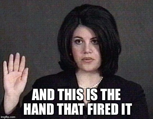 Monica Hand | AND THIS IS THE HAND THAT FIRED IT | image tagged in monica hand | made w/ Imgflip meme maker