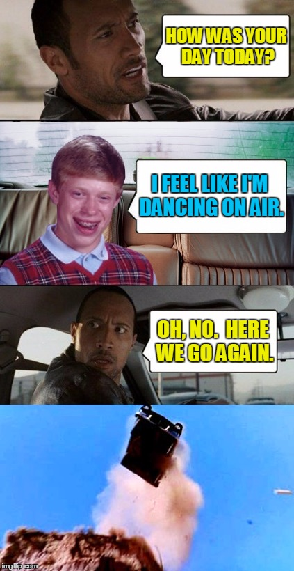 "Making the most of his ""air miles"" 