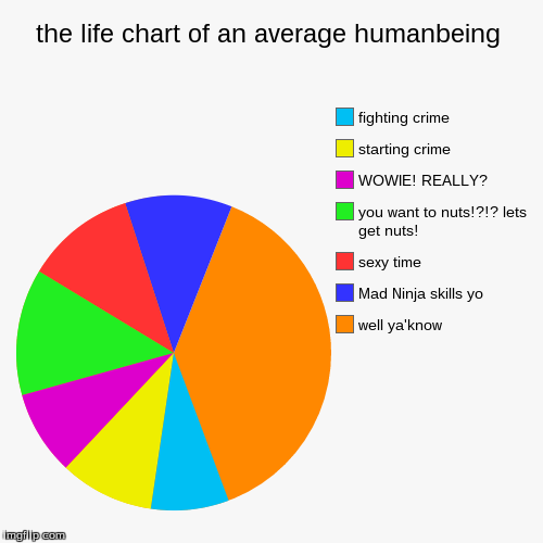 The Life Chart Of An Average Humanbeing Imgflip