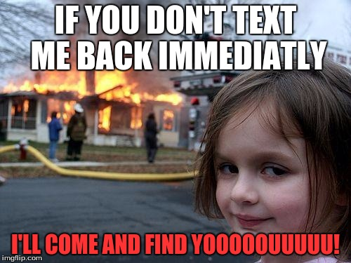 why dont girls text back