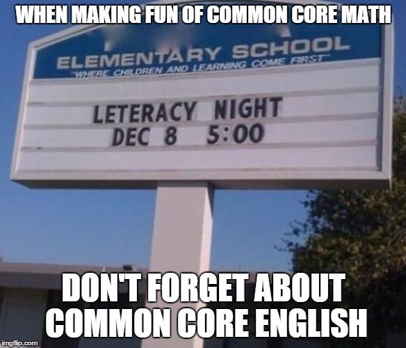xbv9h gotta love common core imgflip