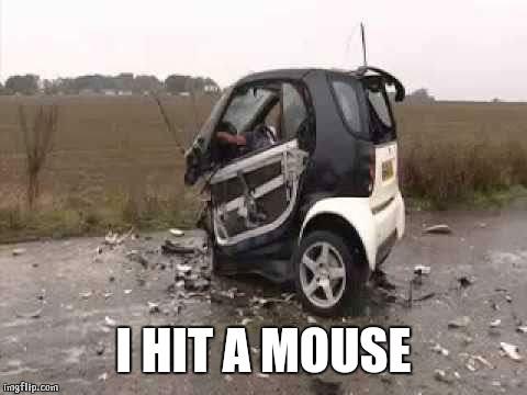 Smart Car Crash Imgflip