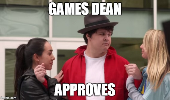 Games Dean Approves | GAMES DEAN APPROVES | image tagged in video games,dean,approves | made w/ Imgflip meme maker