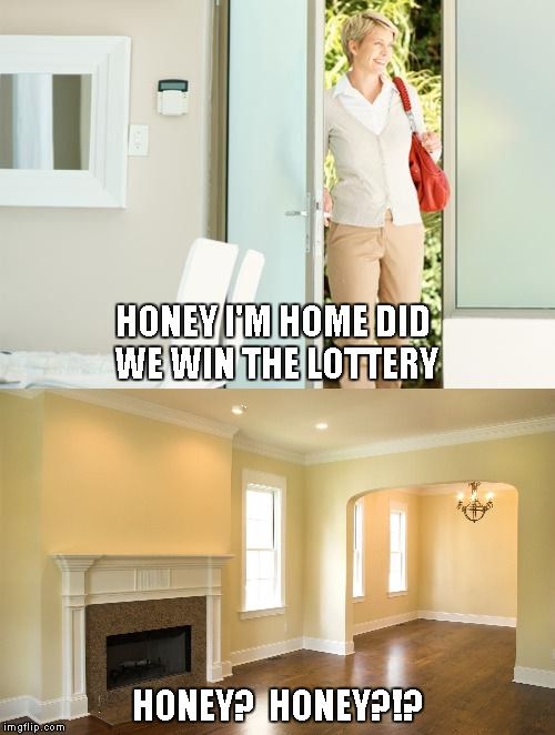 "There is no ""WE"" in ""I won the lottery"" 