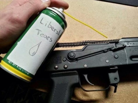 High Quality Liberal Tears For My AK 47 Blank Meme Template