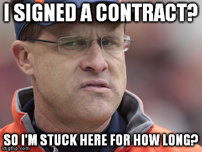 gus | I SIGNED A CONTRACT? SO I'M STUCK HERE FOR HOW LONG? | image tagged in gus | made w/ Imgflip meme maker