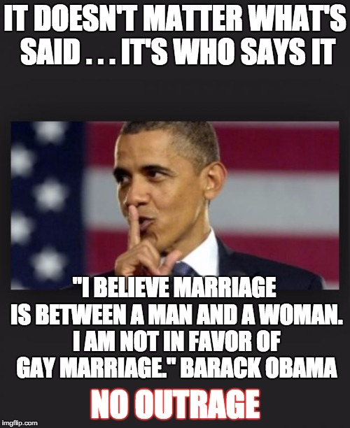 I am not in favor of gay marriage