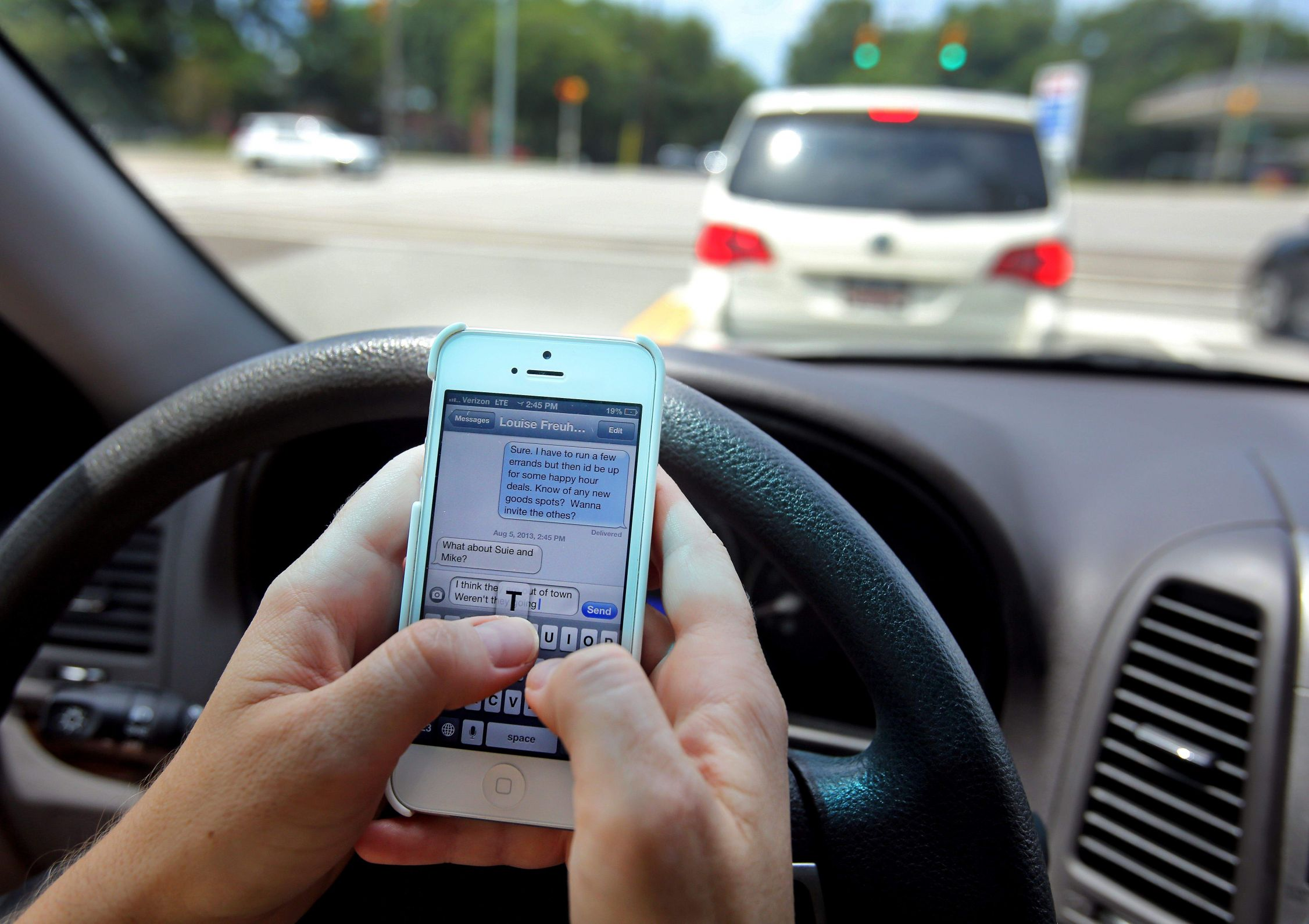Texting and Driving - Shove It Up Your Ass Blank Template