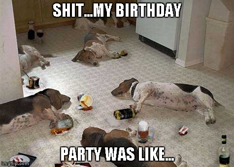 SHIT...MY BIRTHDAY PARTY WAS LIKE... | made w/ Imgflip meme maker