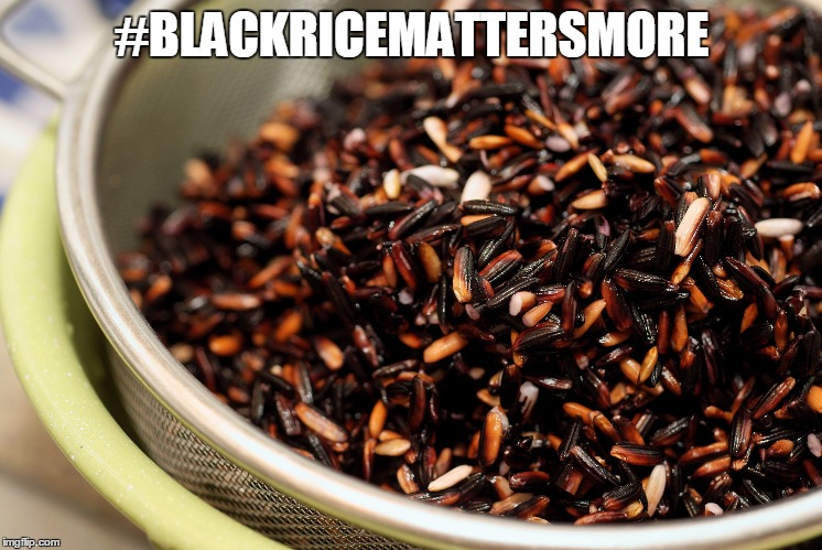 #BLACKRICEMATTERSMORE | made w/ Imgflip meme maker