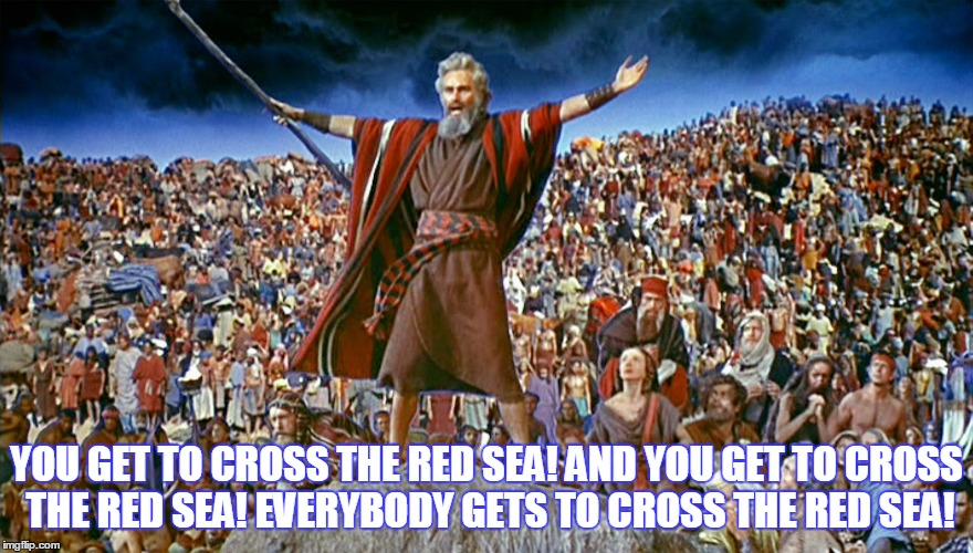 "Welcome to this episode of ""Moses""... 