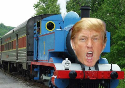 Trump Train Meme Template
