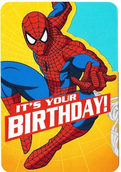 High Quality spiderman birthday Blank Meme Template