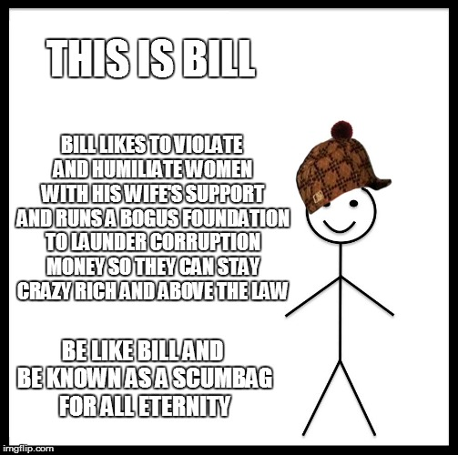 be like bill template