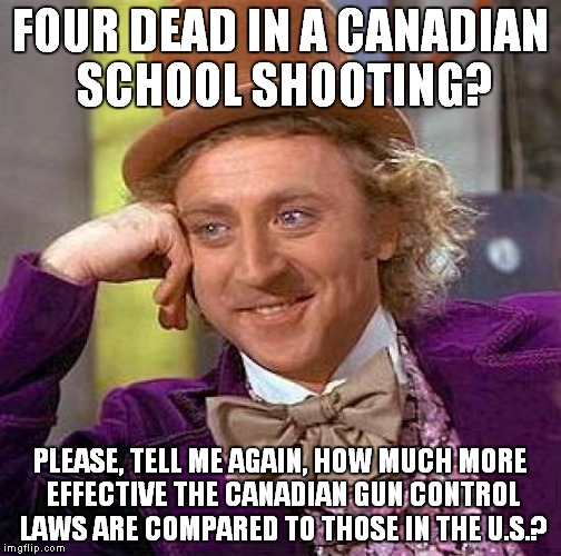School Shooting Canada: Sad But True...