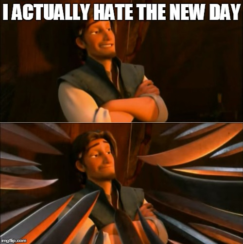 Flynn Rider and the New Day | I ACTUALLY HATE THE NEW DAY | image tagged in new day,wwe,unpopular opinion flynn,flynn rider,hater,memes | made w/ Imgflip meme maker