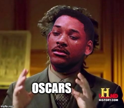 Giorgio A. Smith |  OSCARS | image tagged in ancient aliens,will smith,oscars,racism,biocott,academy awards | made w/ Imgflip meme maker