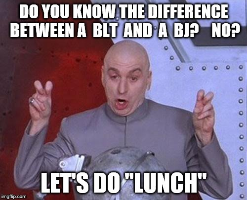 """Serving lunch 24-7"" takes on a whole new meaning. 