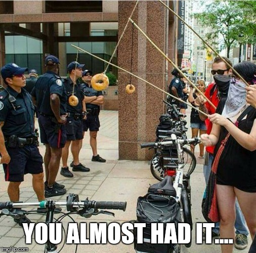 y2img donuts imgflip,Cops And Donuts Meme