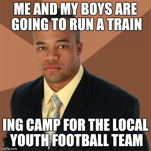 run a train