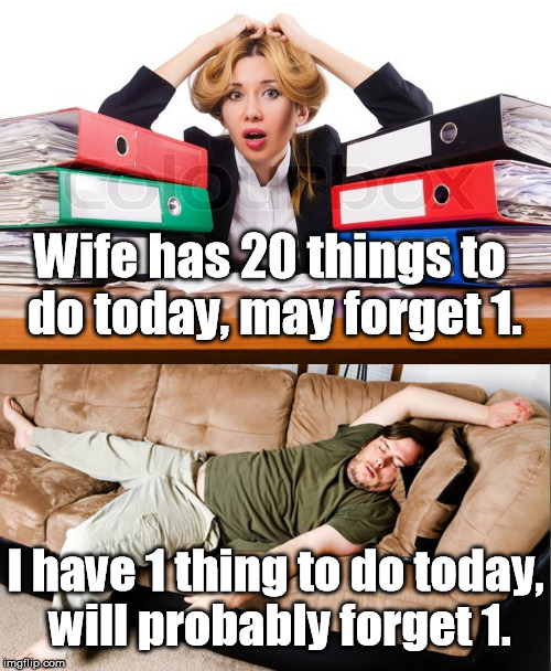 "Our ""To Do"" Lists 