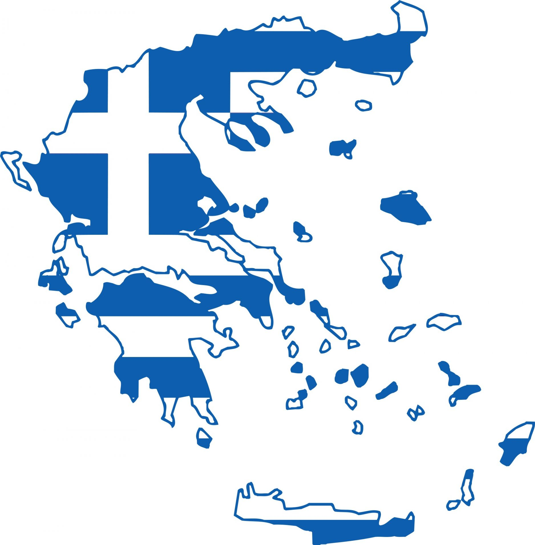 Greece flag map blank template imgflip for Greek flag template