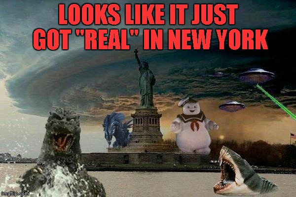 "I knew it was tough living there but it......... | LOOKS LIKE IT JUST GOT ""REAL"" IN NEW YORK 