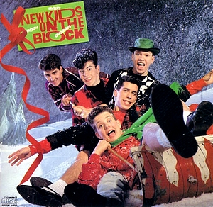 High Quality New kids on the block christmas Blank Meme Template