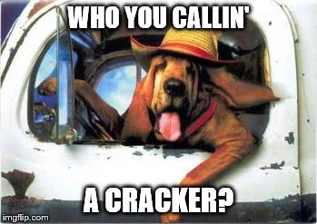 WHO YOU CALLIN' A CRACKER? | made w/ Imgflip meme maker