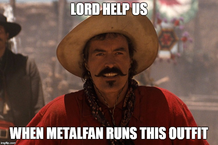 LORD HELP US WHEN METALFAN RUNS THIS OUTFIT | made w/ Imgflip meme maker