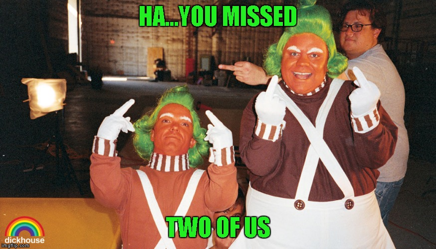 HA...YOU MISSED TWO OF US | made w/ Imgflip meme maker