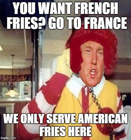 """Coming Soon to A Theater Near You""""Ronald Trump starring as ..."""