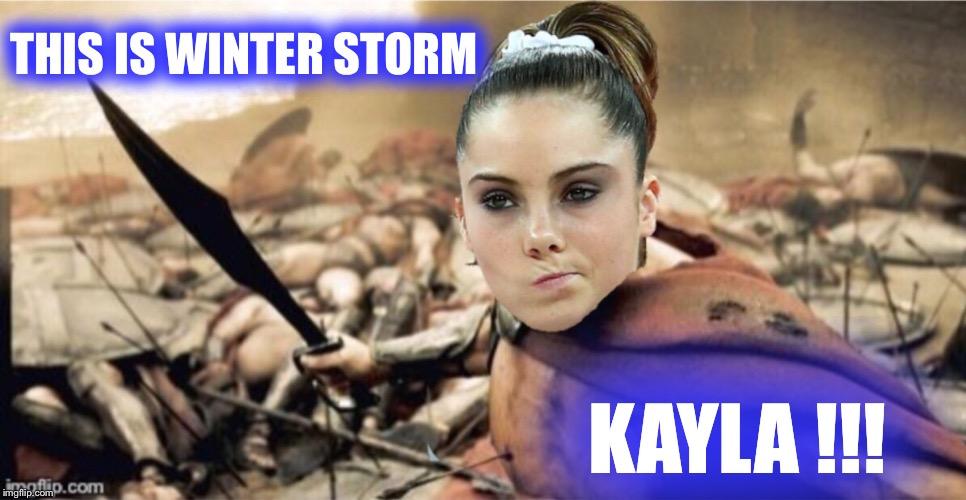 ycdfq winter storm kayla will rage! imgflip