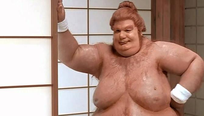 naked guy on belly