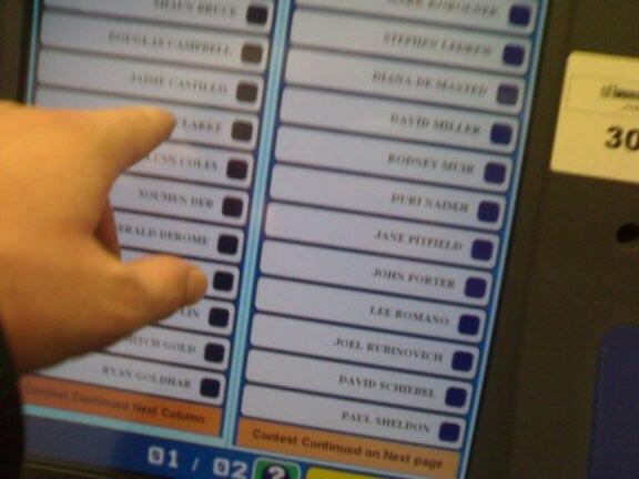 Voting machine Latest Memes - Imgflip