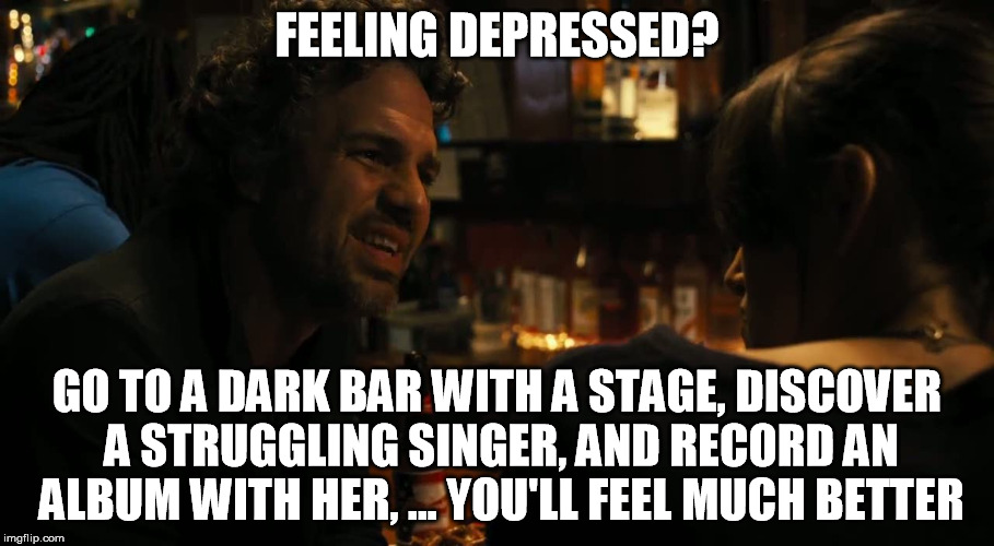 When you feel down about being single and remember this ... |Feeling Down Meme