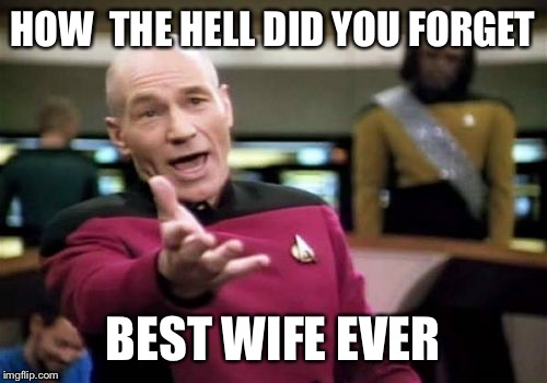 ykerj picard wtf meme imgflip,Best Wife Ever Meme