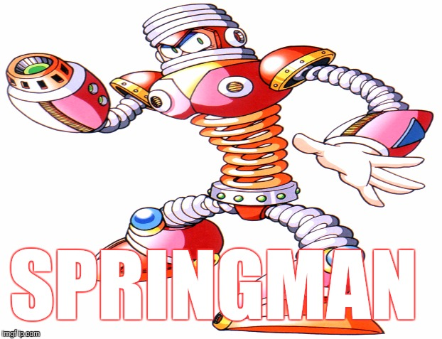 SPRINGMAN | made w/ Imgflip meme maker