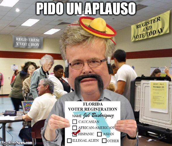 PIDO UN APLAUSO | made w/ Imgflip meme maker