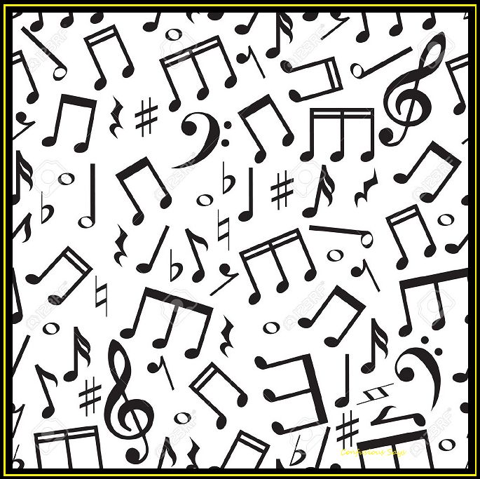 music note callage blank template imgflip