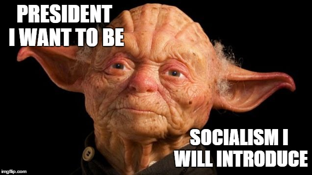 PRESIDENT I WANT TO BE SOCIALISM I WILL INTRODUCE | made w/ Imgflip meme maker