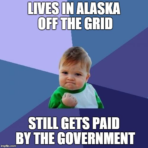 People In Alaska Get Paid By The Government For Living