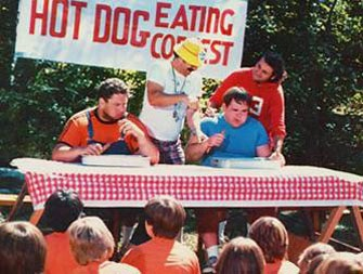 Hot Dog Eating Contest Meme Template
